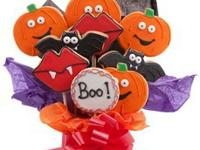 Halloween Cookie Bouquet - 9 computer Each plan of