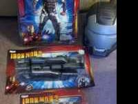 Brand new (never opened)adult Iron Man 2- War Machine