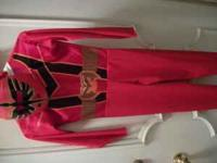 For Sale - Red Power Ranger costume for Halloween, in