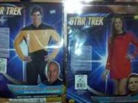 Star Trek Costumes. Super Fun Couples Outfits! One size