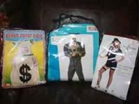 Set of 3 Halloween Express costumes, used one year.