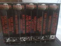 horror moves 10 in box see pic  call james  show