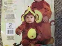 """Monkey See, Monkey Do"" Halloween costume size 1-2 for"