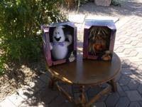 As shown, are two (new..... still in the box) Halloween