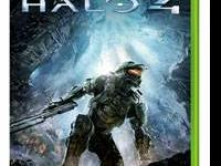 Brand NEW, never played, still in wrapper. Halo 4 for