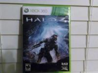 For sale is the Halo 4 game for Xbox 360. In good