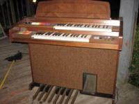 HAMELL CORD ORGAN SOUNDS GOOD AND IN GOOD SHAPE .ASKING