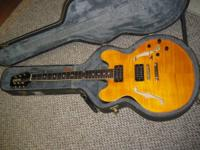 Hamer Echotone. Rare Aztec Gold surface was Guitar