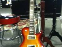Brand name New Hamer SATQ. Sunburst in color Les Paul