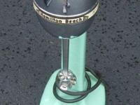 This is a Hamilton Beach malt mixer in very good