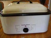 I have a Hamilton Beach Roaster Oven 22 qt fro sale.