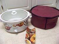 BRAND NEW HAMILTON BEACH 6 QT. SLOW COOKER, COMES WITH