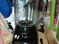 Very nice blender, works very well Glass Jar Has
