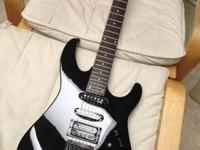 "This is a ""like new"" electric guitar made by Hammer."