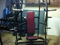 Hammer Strength Fitness Equipment. All in excellent