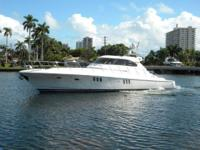 Description This elegant 62 McKinna Express features a