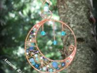 Hammered Copper Jewelry ~ Wire Wrapping & Weaving ~