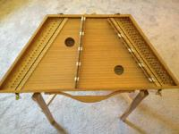Beautiful Handcrafted Mountain Hammered  Dulcimer.