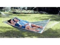 New in box, never used! Sturdy double wide hammock 118""