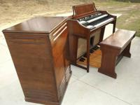 Here at Southeast Organ Co we have a Hammond A-101 and