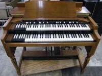 Hammond B W/Speaker Cabinet $699  Location: Benson