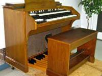 1965 Hammond A-105 organ, which is a Hammond C-3 with a