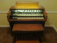 We have this great organ! I think it blew a bulb and we