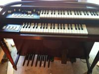 "For sale is 1957 Hammond M-3 organ aka ""child B-3"". I"