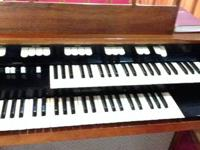For Sale is this Hammond Organ, it is made use of and