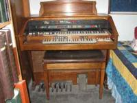 This Hammond Organ is a beautiful piece of furniture as