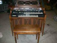 I have a nice older Hammond organ . It still plays we