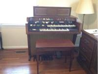 Hammond organ from the 1960's. 2,500 or best offer.