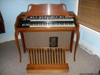 1963 Hammond Organ.  It is an A102 French