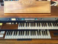 Provided right here is a genuine Hammond Organ. Due to