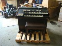 Hammond Organ, Model # EX-800E, Serial # 9406030, circa
