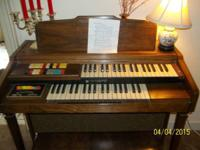 Hammond Organ - Stage II Rhythm w/ Original Bench -