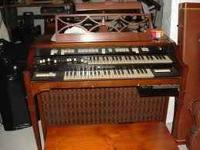 THIS IS A NICE T-MODEL HAMMOND WITH A TONE GENERATOR