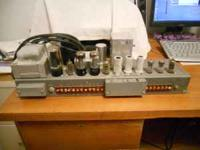 Working tube amp from M3 Hammond organ, build your own