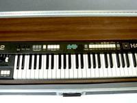 Up for grabs is a Hammond XK-2 with air travel case.