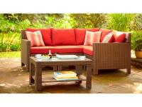 The Beverly 5-Piece Sectional Patio Set will be a