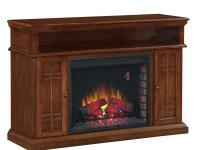 The Carmel Media Console Electric Fireplace features a