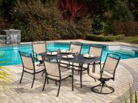 Extend your dining area into the great outdoors with