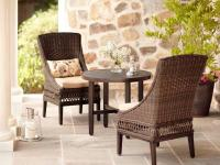 The inherent beauty found in this Woodbury Bistro Set