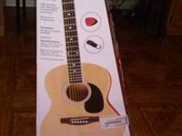 Spectrum 36in Hand Crafted Acoustic Guitar for sale.