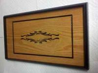 Hand Crafted serving tray by local craftsman with an