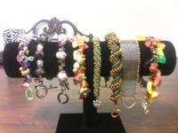 there are different prices in the hand made bracelets