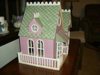 I made this doll house from a kit and also made the