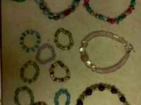 I make and sell hand made glass bead jewelry. At vary