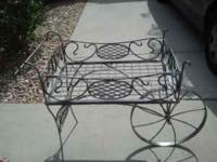 This is a one of a kind hand made Ornamental Iron