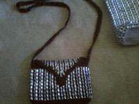 Lovely hand-made, inexpensive bags. Large purses are